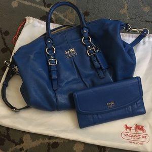 COACH purse and wallet bundle